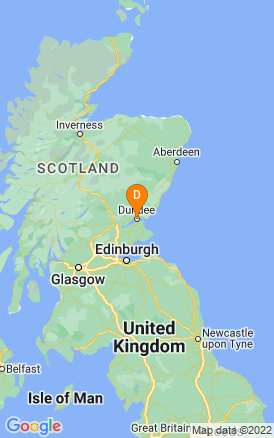 Google Map of dundee, écosse