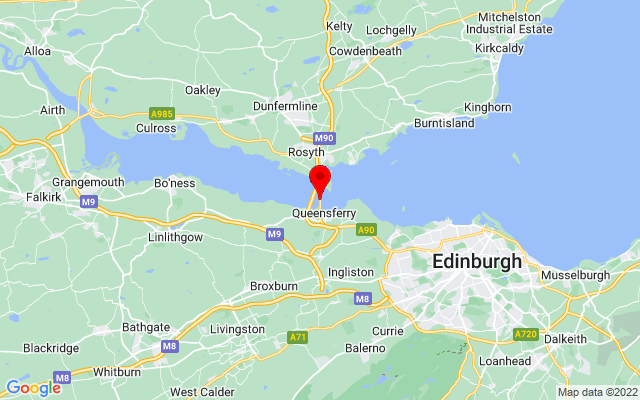Google Map of forth road bridge
