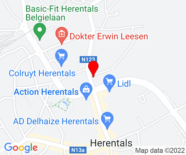 Google Map of Fraikinstraat 12, 2200 Herentals