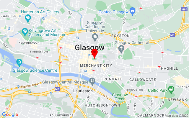 Google Map of george square glasgow