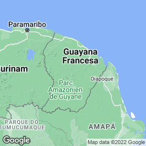 Guayana Francesa Map
