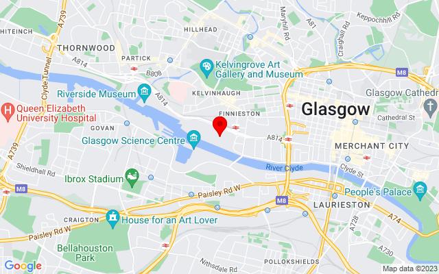 Google Map of glasgow secc