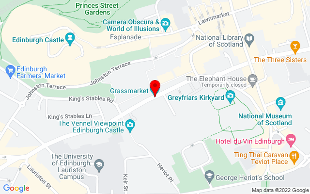 Google Map of grassmarket edinburgh