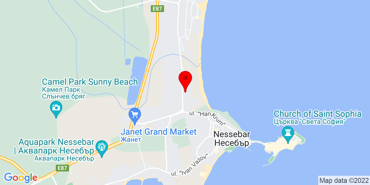 Google Map of grenada sunny beach