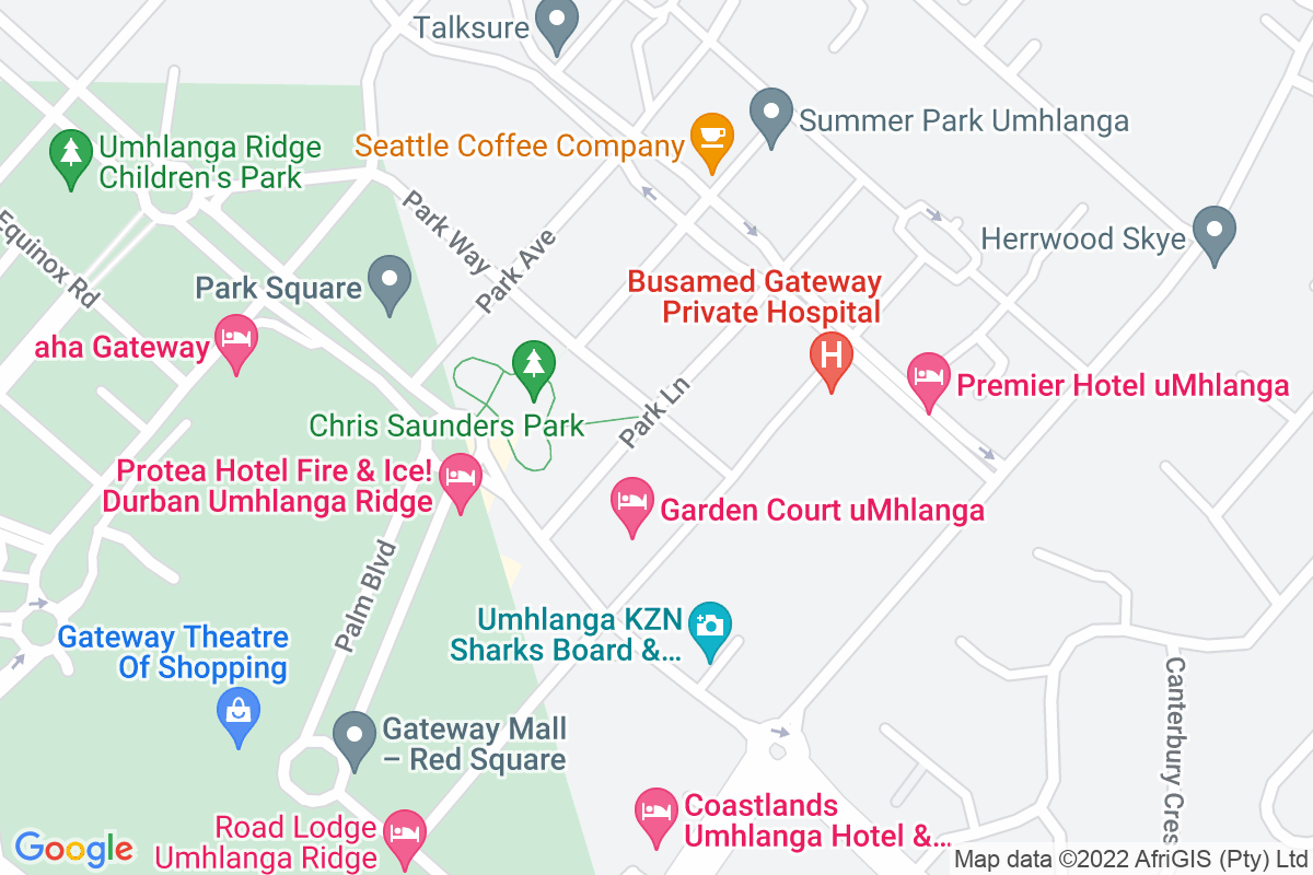 Google Map of he Regus, First Floor Liberty Life Building, Office 109, 21 Aurora Drive, Umhlanga Ridge, 4301
