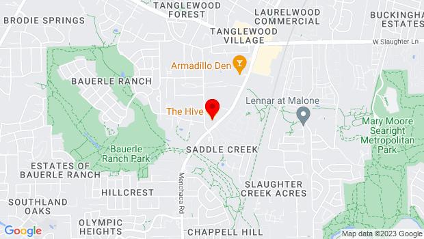 Google Map of https://www.hiveaustin.com, Austin, TX 78748
