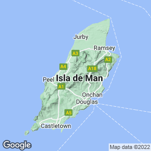 Isla de Man Map