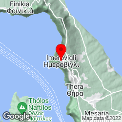 Google Map of imerovigli, santorini
