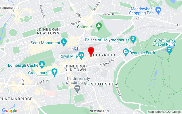 Google Map of john knox house edinburgh