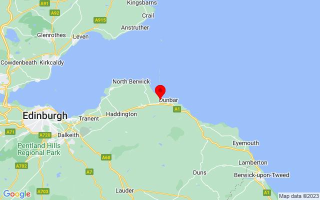 Google Map of john muir country park scotland