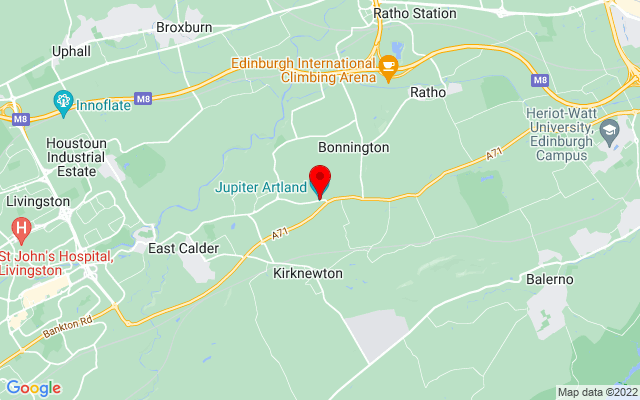 Google Map of jupiter artland