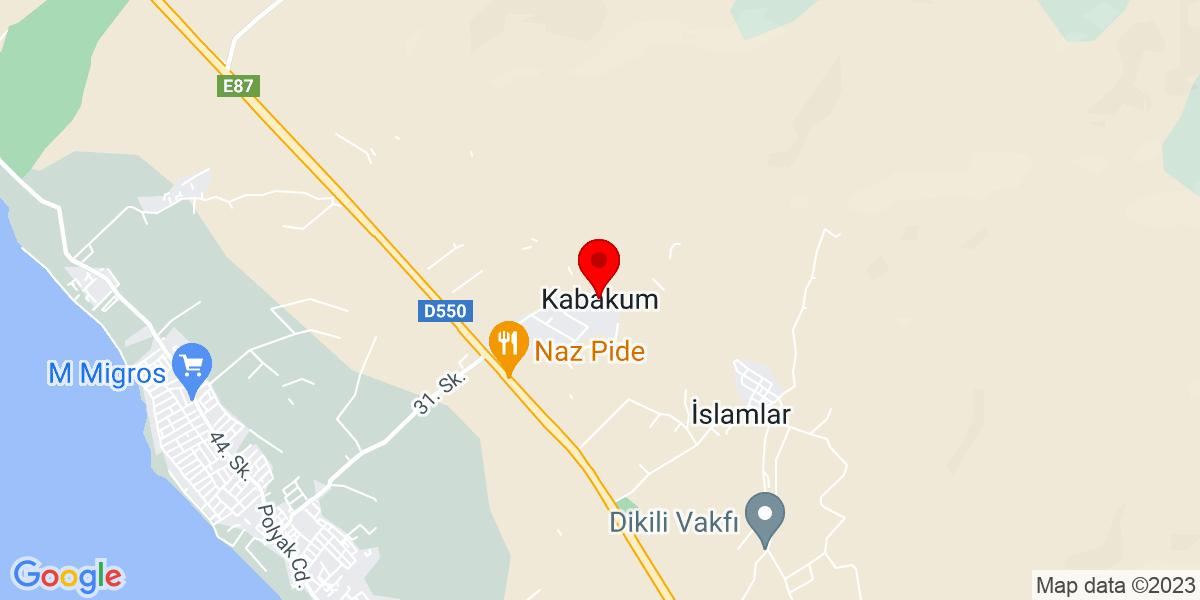 Google Map of kabakum