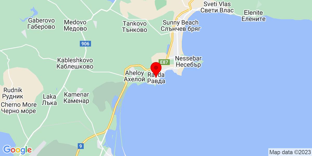 Google Map of laguna ravda