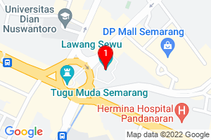 Google Map of lawang sewu