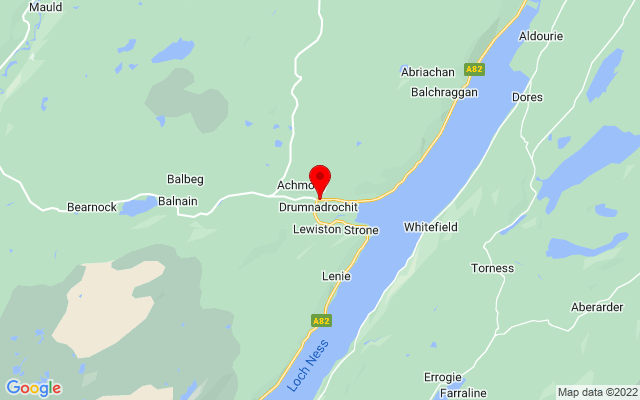 Google Map of loch ness exhibition centre