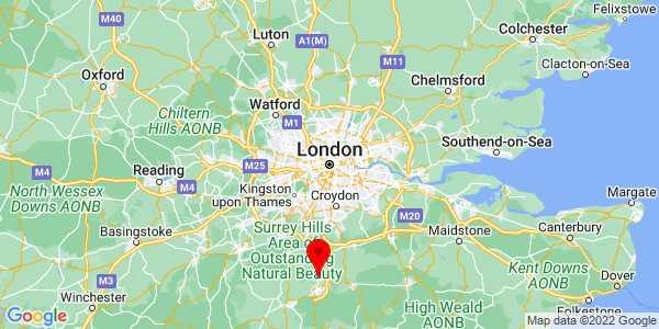 Google Map of london