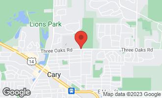 Map of LOT 02 Three Oaks Road Cary, IL 60013