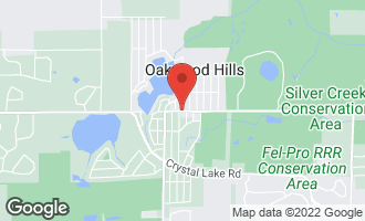 Map of Lot 1 Ash Drive OAKWOOD HILLS, IL 60013