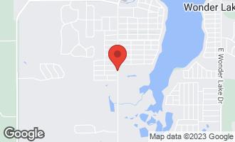 Map of Lot 2 Thompson Road WONDER LAKE, IL 60097
