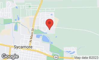 Map of Lot 208 Hamilton Drive SYCAMORE, IL 60178