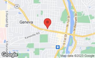 Map of Lot 25 Mckinley Avenue GENEVA, IL 60134