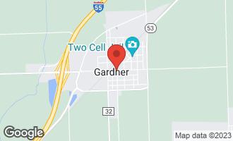Map of Lot 4/5 Main Street GARDNER, IL 60424