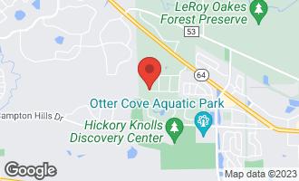 Map of Lot 49 Sunset Drive CAMPTON HILLS, IL 60175