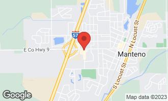 Map of Lot 7 South Creek Drive MANTENO, IL 60950