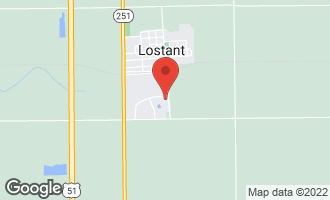 Map of Lot 80 Dose Drive LOSTANT, IL 61334