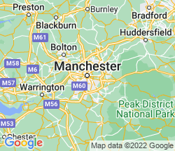 small map of Manchester