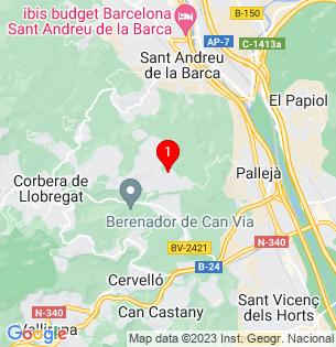 Google Map of manuel de falla, Palleja, BARCELONA, Spain