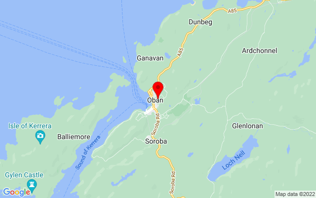 Google Map of mccaigs tower oban