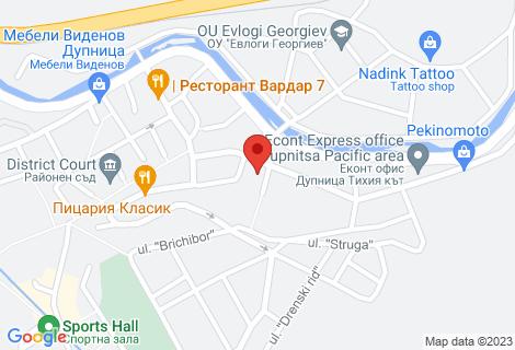 Карта на мебели Вега