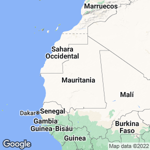 Mauritania Map