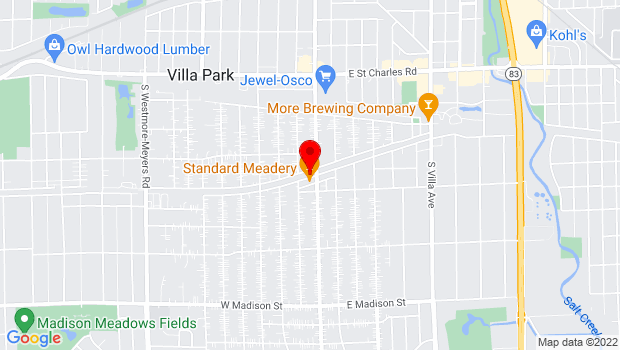 Google Map of near Ardmore Ave & the Prairie Path, Villa Park, IL 60181