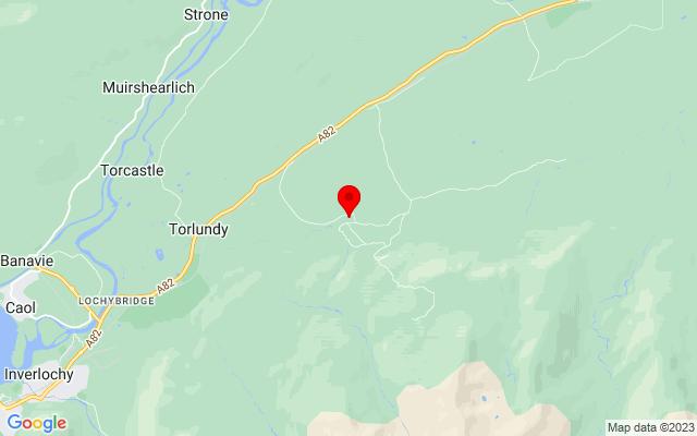 Google Map of nevis range mountain gondola