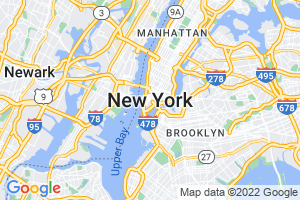 Google Map of new york, NY