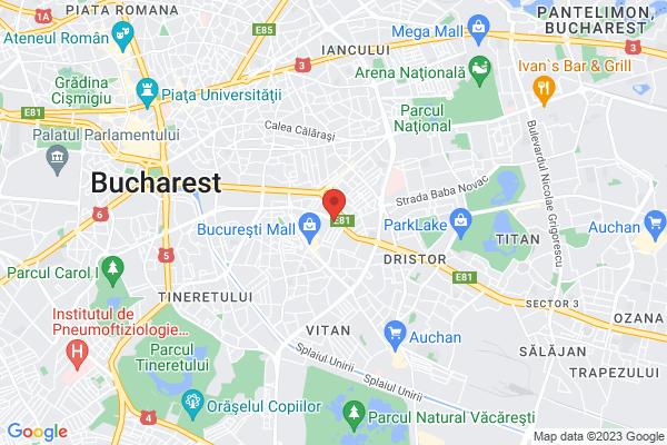 Google Map of no. 19, Dudesti Pantelimon Street District 3 033091 Bucharest, Romania
