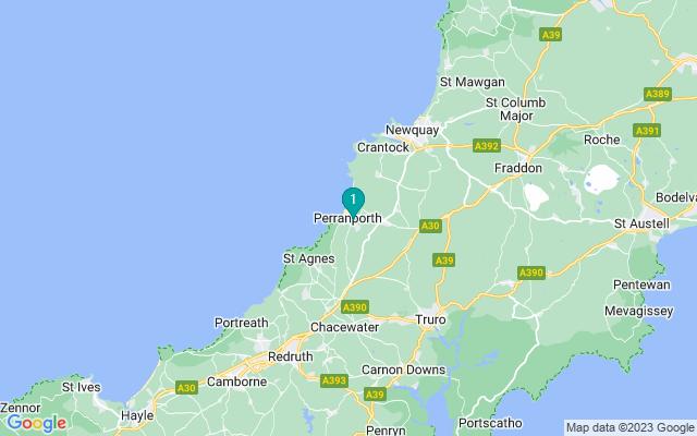 Google Map of Perranporth
