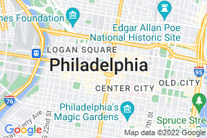 Google Map of philadelphia