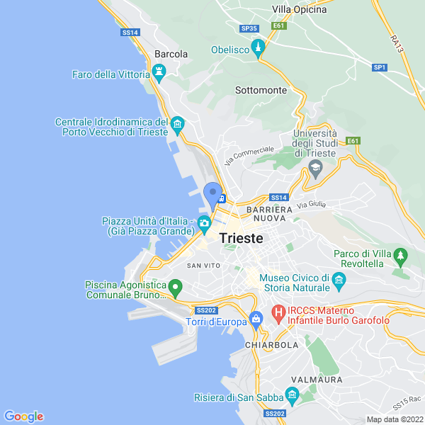 Trieste Science+Fiction Festival Map