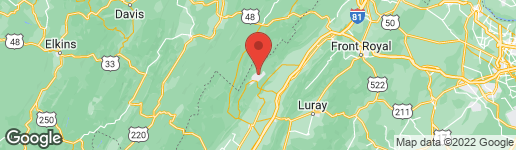 Map of POLK BASYE, VA 22810