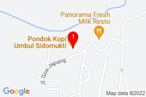 Google Map of pondok kopi sidomukti