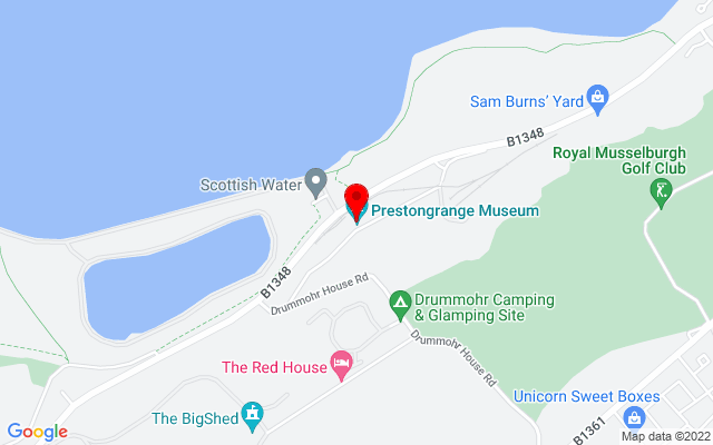 Google Map of prestongrange musuem prestonpans
