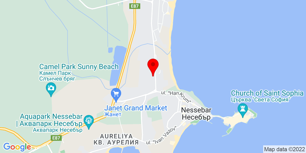 Google Map of royal dreams sunny beach