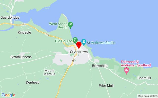 Google Map of saint andrews aquarium scotland