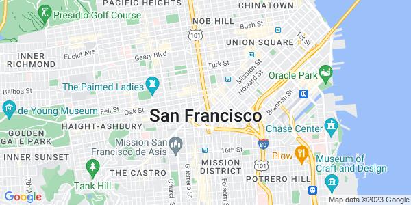 Google Map of San Francisco