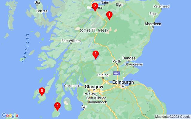 Google Map of scotland