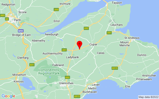 Google Map of scottish deer centre