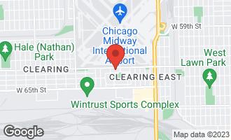 Map of SEC 65th Laramie Avenue BEDFORD PARK, IL 60501